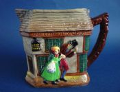 Stunning Royal Doulton Dickens Series G 'Old Curiosity Shop' Relief Moulded Jug D5584 c1955